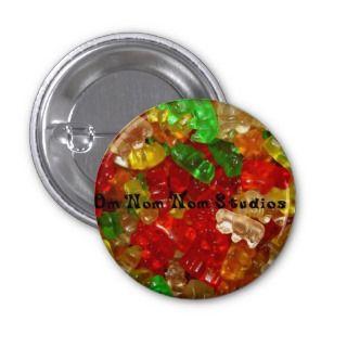 Om Nom Nom Studios Gummi Bears Pins