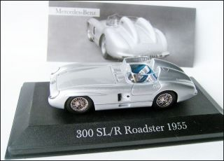 Mercedes Benz 300SL/R Roadster  1955  W196S # Ixo 143
