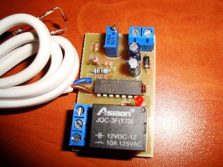 Electronic Fan Temperature Controlled Thermostat Regulator KIT 1A 12V