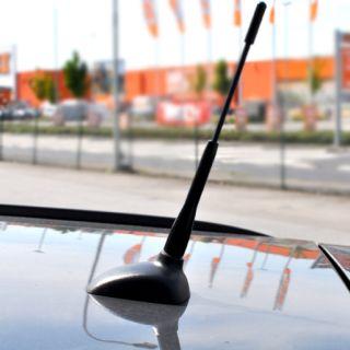Auto Aluantenne Antenne 185mm Black NISSAN MICRA PRIMERA ALMERA Tino