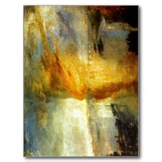 Turner, Joseph Mallord William (original title) T Postcards
