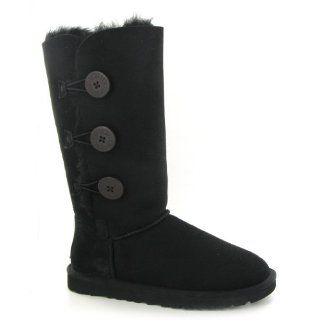 UGG Australia Bailey Button Triplet Black Womens Boots