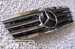 VOLL CHROM FRONT GRILL FRONTGRILL KÜHLERGRILL MERCEDES BENZ W208 CLK