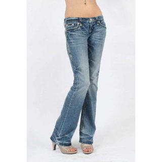 Rock Revival     Damen Donna Stiefelschaft Denim Jeans in Farbe B7