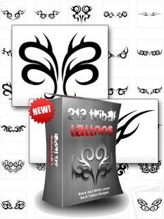 213 Tribal Tattoos  Tattoo Vorlagen   inklusive Master Reseller Lizenz