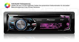 Pioneer iPhone/iPod Radio+Freisprecheinrichtung+Radioblende+Kabel für