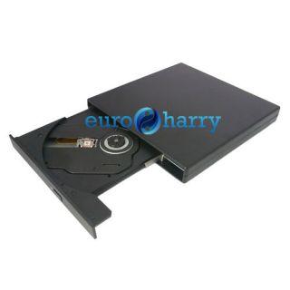 Externes USB CD ROM Laufwerk Slim Extern WIN7 Notebook