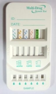 DRUG TESTING KIT   7 in 1 DRUG PANEL TEST TESTS PRIVATE    MOST