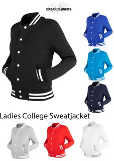 URBAN CLASSICS   LADIES COLLEGE SWEATJACKET JACKE