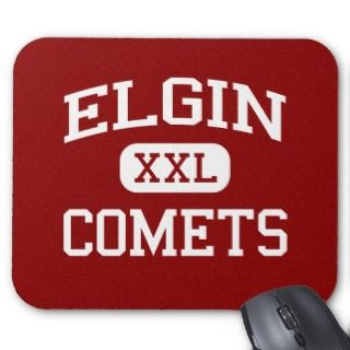 Elgin   Comets   Elgin High School   Marion Ohio Mouse Mat