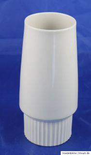 Krautheim Selb Bavaria Vase 50er 60er Jahre weiss Weiß 18,7 cm hoch