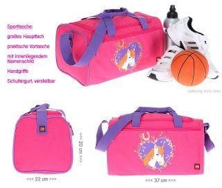 Sporttasche LEGO GIRL HORSE 2 Kindersporttasche Kindertasche Tasche