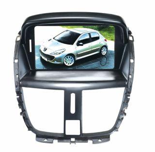 Peugeot 207 OEM Touchscreen Autoradio Navigation GPS DVD  USB 3D TV