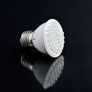 38 LED E27 White LED Energy Saving Light Bulb 1.9W 220v