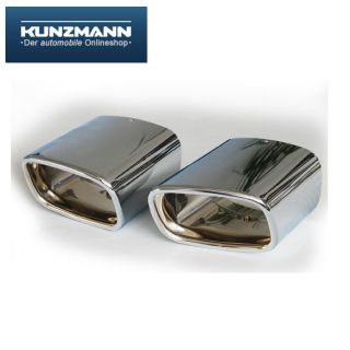 Schätz Chrom Endrohre Auspuffblenden Mercedes GLK X204