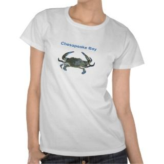 Chesapeake Bay Blue Crab Shirt