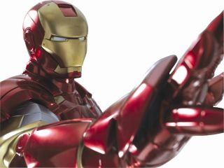 Iron Man 2 Life Size Clean Figur lebensgroß inkl. LED KIT 228cm 24h