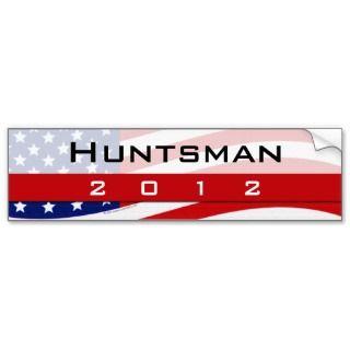 Jon Huntsman for President 2012 Bumper Sticker