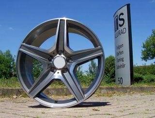 18 Zoll Sportive Felgen Mercedes W204 W207 W211 W212 GLK CLK / AMG uvm