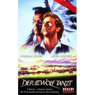 Der mit dem Wolf tanzt [VHS] Mary McDonnell, Graham Greene, Michael