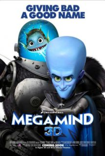 Megamind   Giving Bad a Good Name Masterprint