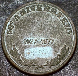 GUADELOUPE 1 Franc 1921 High Grade