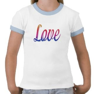 Love rainbow colors shirt