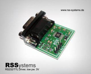 DIGITAL CONVERTER TTL/RS232 INDUSTRIAL, LOW PW, SMD,+3V
