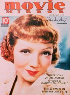 Claudette Colbert   Movie Mirror Magazine Cover 1930s Masterprint