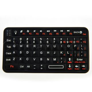 Mini Bluetooth Tastatur LED Backlight f Smart Phone Tablet PC Laptop