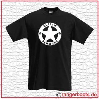 Shirt OUTLAW GERMANY Biker Rocker Außenseiter 238
