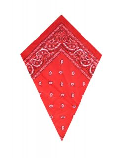 New Red Paisley Head/Neck Scarf Bandana ONLY £1.99