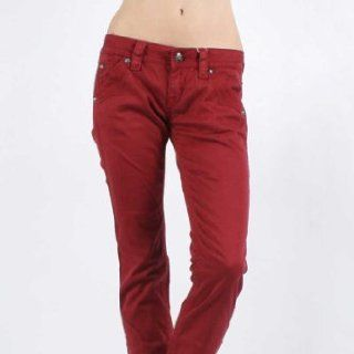 Rock Revival     Frauen Holly Doppel Pocket Jeans in Red