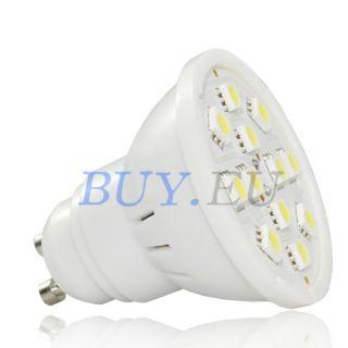 5W GU10 White SMD 5050 LED Light Bulb Lamp 110V 240V