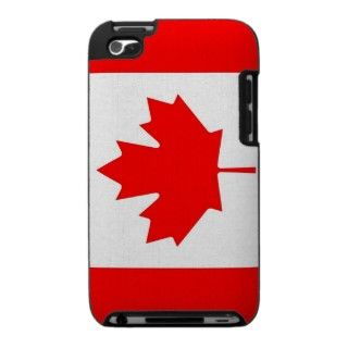Ipod Case with Flag of Canada