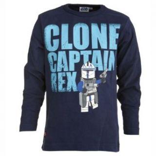 Lego Wear Jungen T Shirt Star Wars THOR 153   Clone Captain Rex T