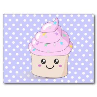 Cute Cupcake Postcards