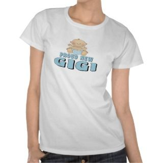 PROUD NEW GIGI Baby Boy Tee Shirt