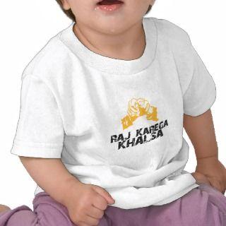 Raj Karega Khalsa Shirts