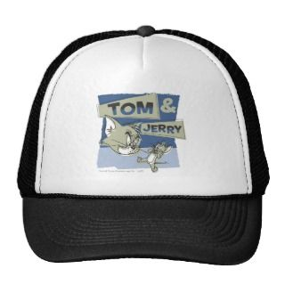 Tom and Jerry Scaredey Mouse Trucker Hats
