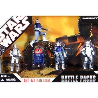 Star Wars ARC 170 Fighter Figuren Battle Pack Spielzeug