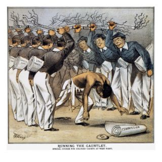 West Point Cartoon, 1880 Giclee Print by J. A. Wales