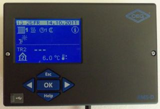 Heizungsregelung KMS D Plus 233 Gas Öl Festbrennstoff Solar 2 Mischer
