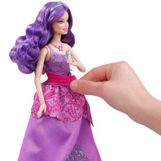 Barbie Die Prinzessin und der Popstar X8756 Keira singende Puppe Keira