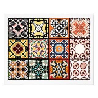 12 Different Tea Bag Tiles   Origami Folding Flyer Design