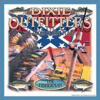 Dixie Outfitters Fishing Tools of the Trade Tin Sign