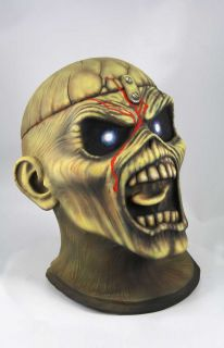 IRON MAIDEN LATEX   MASKE   EDDIE   PIECE OF MIND