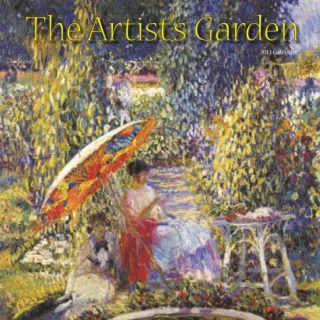 The Artists Garden   2013 Wall Calendar Calendars