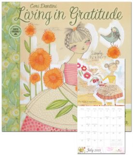 Living in Gratitude   2013 Calendar Calendars
