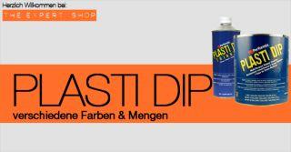 Plasti Dip ® wiederablösbare Farbe, Flüssiggummi, Folie, Autolack